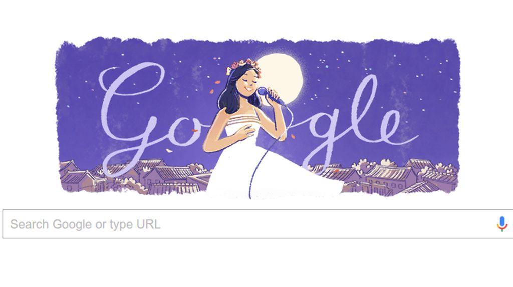 Google Doodle Rayakan Ultah Diva Asia