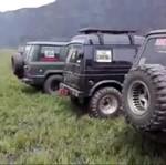 Komunitas Mobil Diusir Gara-gara Lindas Sabana Gunung Bromo
