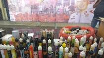Polisi Tangkap Penjual Rokok Elektrik, Ratusan Botol Likuid Disita