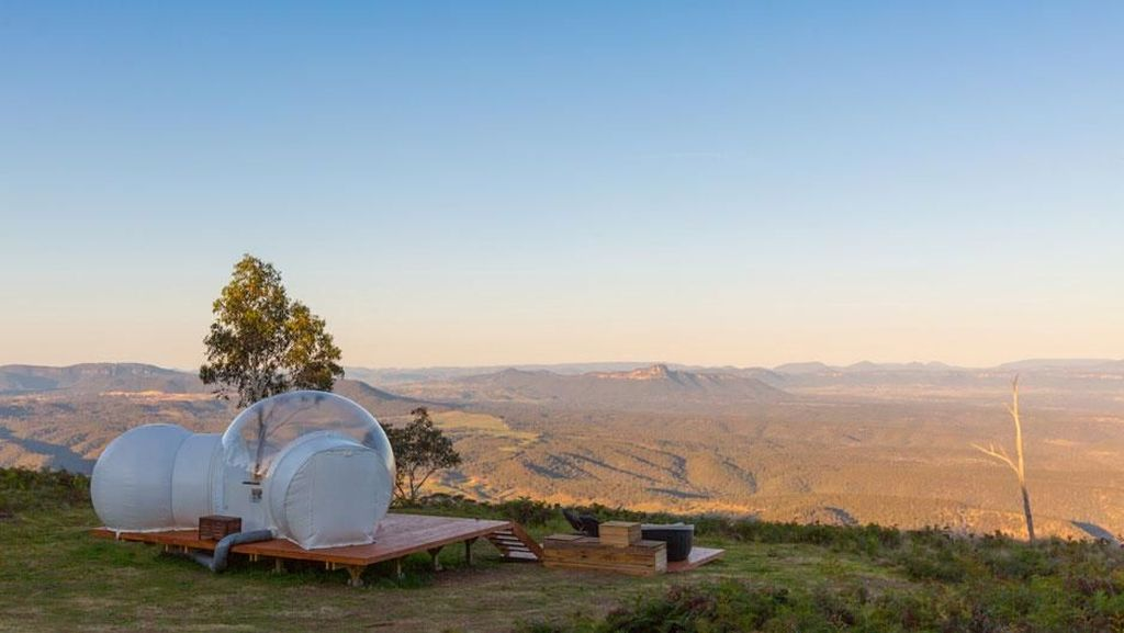 Tenda Gelembung Unik dan Pemandangan Menakjubkan di Australia