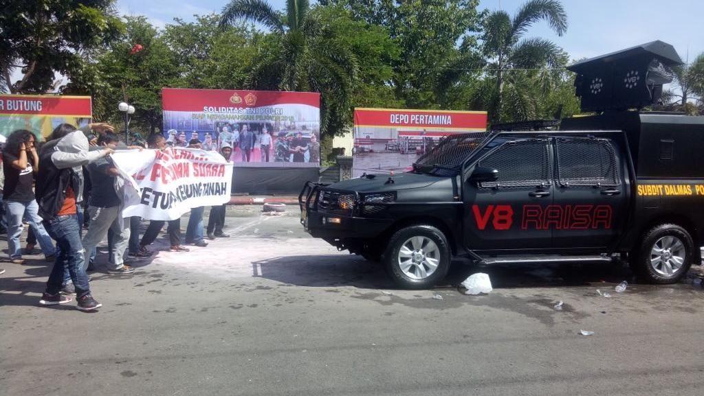 Raisa Jadi Ujung Tombak Penghalau Kerusuhan Pilkada Sulsel