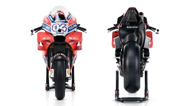 Profil Tunggangan Dovizioso dan Lorenzo