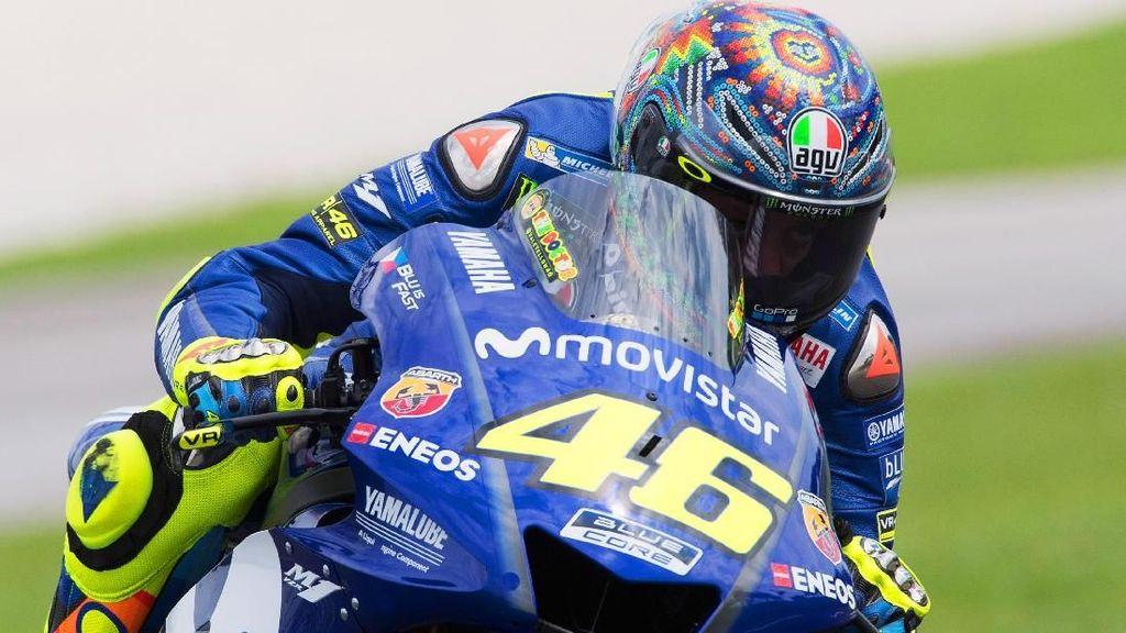 Dari Rossi Sampai Marquez, Ini Helm Spesial di Tes Pramusim MotoGP