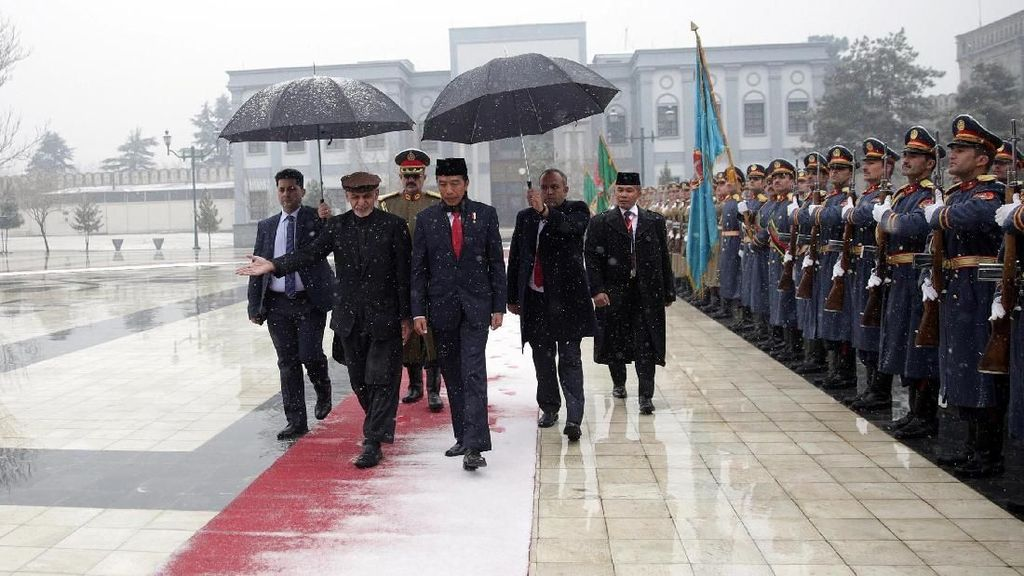 Menlu: Jokowi ke Afghanistan Bentuk Komitmen RI Bantu Perdamaian