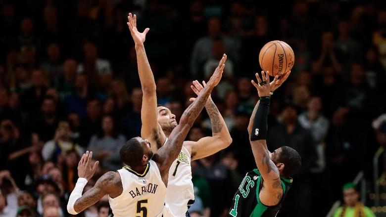 Celtics Kalahkan Nuggets dalam Duel Ketat