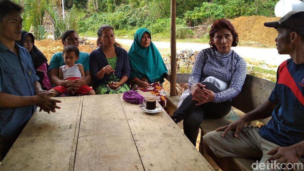 Susi Dipalak Kacamata Renang Oleh Nelayan Natuna