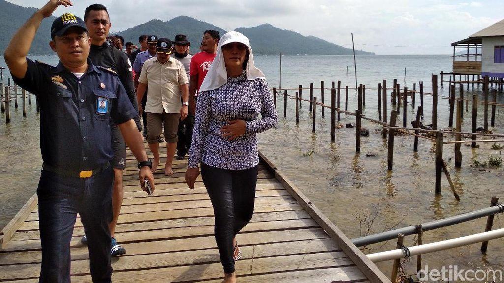Mau Lawan Sandi di Danau Sunter, Susi: Cek Dulu, Bersih Belum