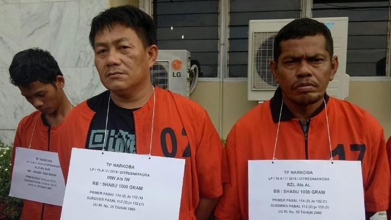 Ditangkap di Kasus 1 Kg Sabu, Lettu Irwanto Mengaku Tak Terlibat