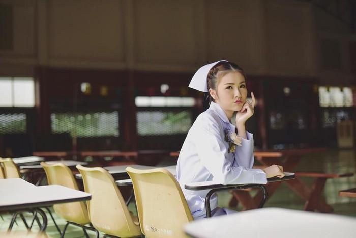 Bagaimana rasanya jika Anda, khususnya para pria dirawat di rumah sakit dan mendapat perawat yang berparas cantik? Foto: Instagram @maypimm