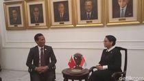 Menlu Timor Leste Temui Menlu Retno di Jakarta