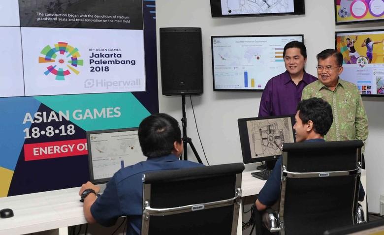 Asian Games 2018 Dikendalikan dan Dimonitor Dari Senayan