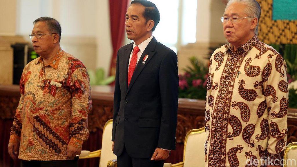 Buka Raker di Istana, Ini Pesan Jokowi ke Pejabat Kemendag