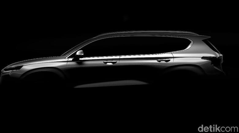 Hyundai Buka Selubung SUV Santa Fe Generasi Keempat
