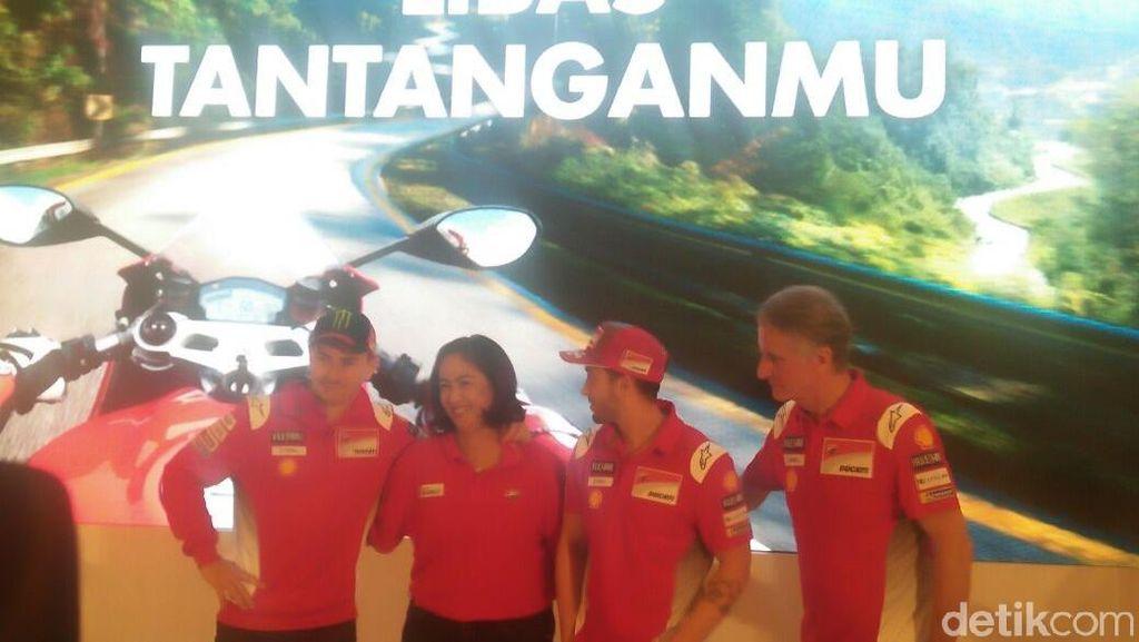 Andrea Dovizioso dan Jorge Lorenzo Kembali Sambangi Indonesia