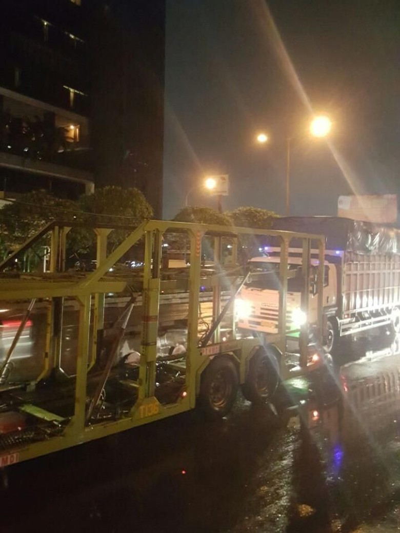 Ini Titik Macet di Tol Jakarta-Cikampek Pagi Ini