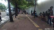 Desain Trotoar Sudirman Selesai, Pembangunan Tunggu Instruksi Anies
