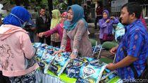 Stabilkan Harga Beras, Pemkab-Pemkot Kediri Kompak Operasi Pasar