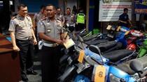 Puluhan Motor Hasil Razia Tak Diambil Pemiliknya di Yogya