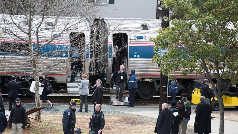 Dua Kereta Tabrakan di Carolina Selatan AS, 2 Orang Tewas