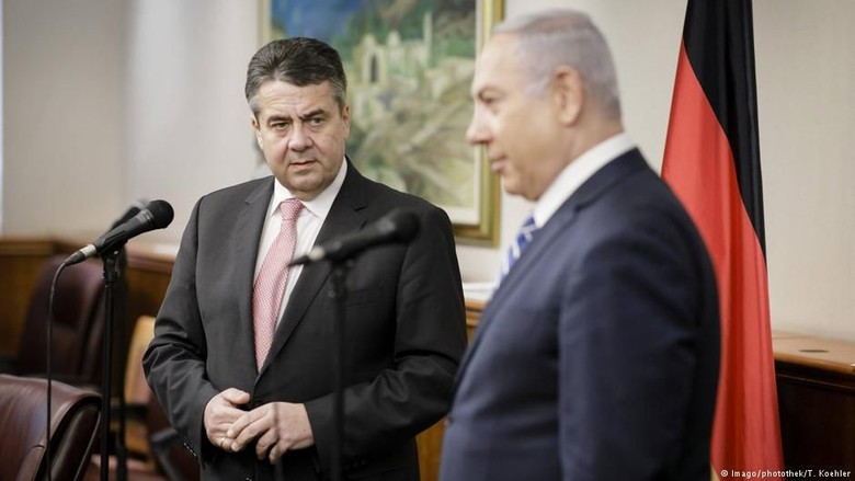 Menlu Jerman Bertemu Netanyahu Bahas Perdamaian Israel-Palestina
