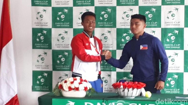 Main Pertama, Althaf Gagal Sumbang Poin di Piala Davis 2018