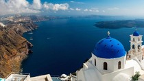 Foto: Rahasia Pulau Santorini di Yunani