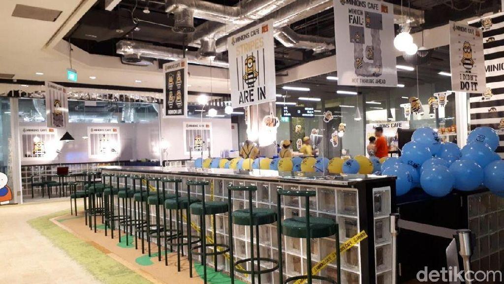 Ini Serunya Suasana Makan Enak di Minions Cafe Singapura