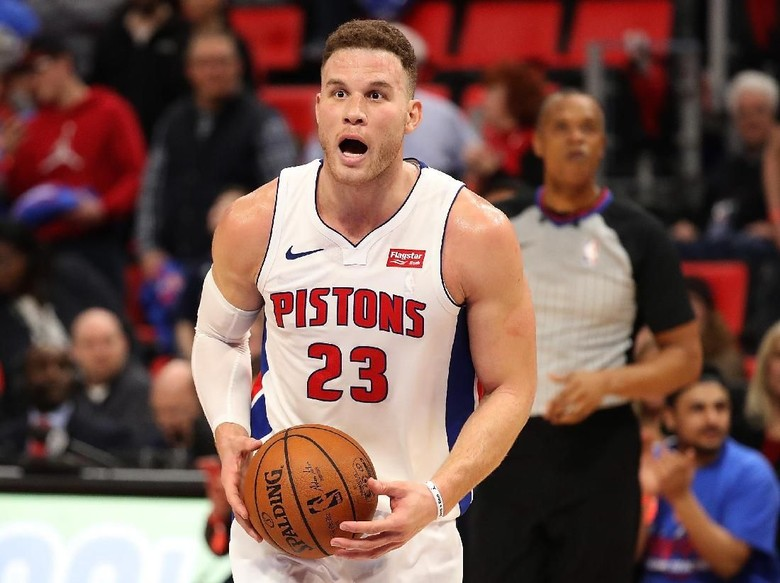Debut Bersama Pistons, Blake Griffin Menggila