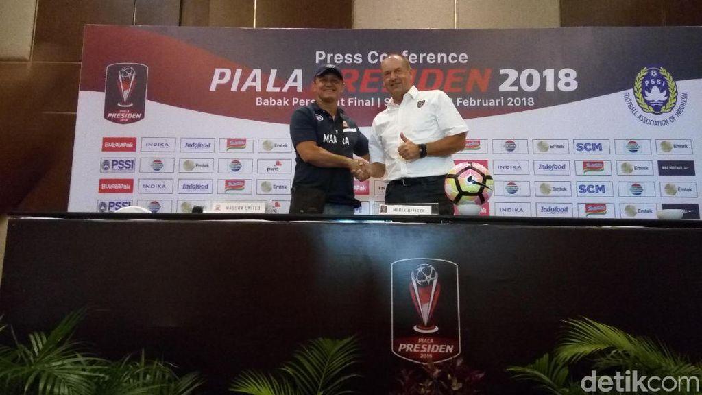 Hadapi Bali United, Madura United Sudah Latihan Adu Penalti