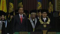 Didampingi Puan-Sri Mulyani, Jokowi Hadiri Dies Natalis Kampus UI