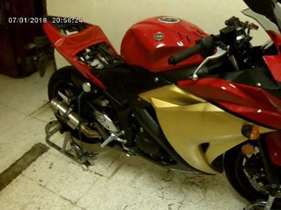 Iron Man Look Yamaha YZF R25