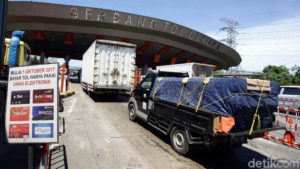 Aspal Plastik yang Dicoba di Tol Tangerang-Merak Belum Maksimal