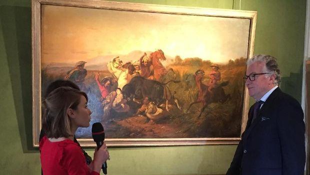 Dua Kolektor Indonesia Hadir saat Lelang Lukisan Raden Saleh di Prancis