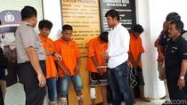 9 Pelaku Curanmor Ditangkap di Tangsel, 5 Orang Ditembak