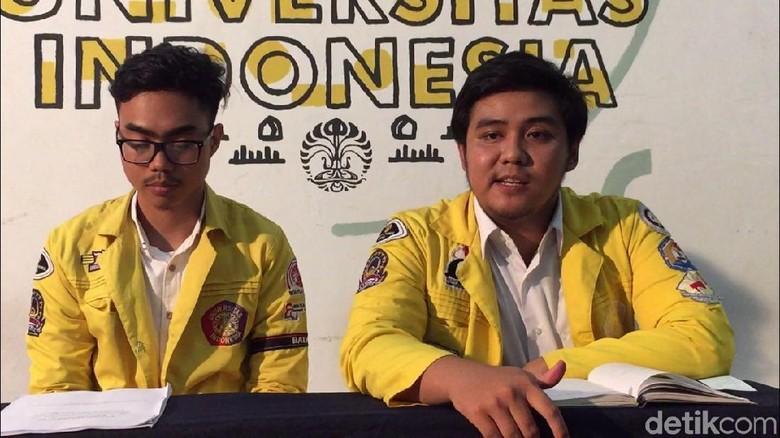 Ketua BEM UI: Aksi Kartu Kuning untuk Jokowi Bukan Bayaran