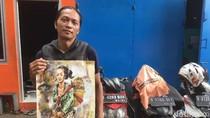 Sebelum Tewas Dililit Ular, Dwi Setiawan Beri Lukisan ke Teman