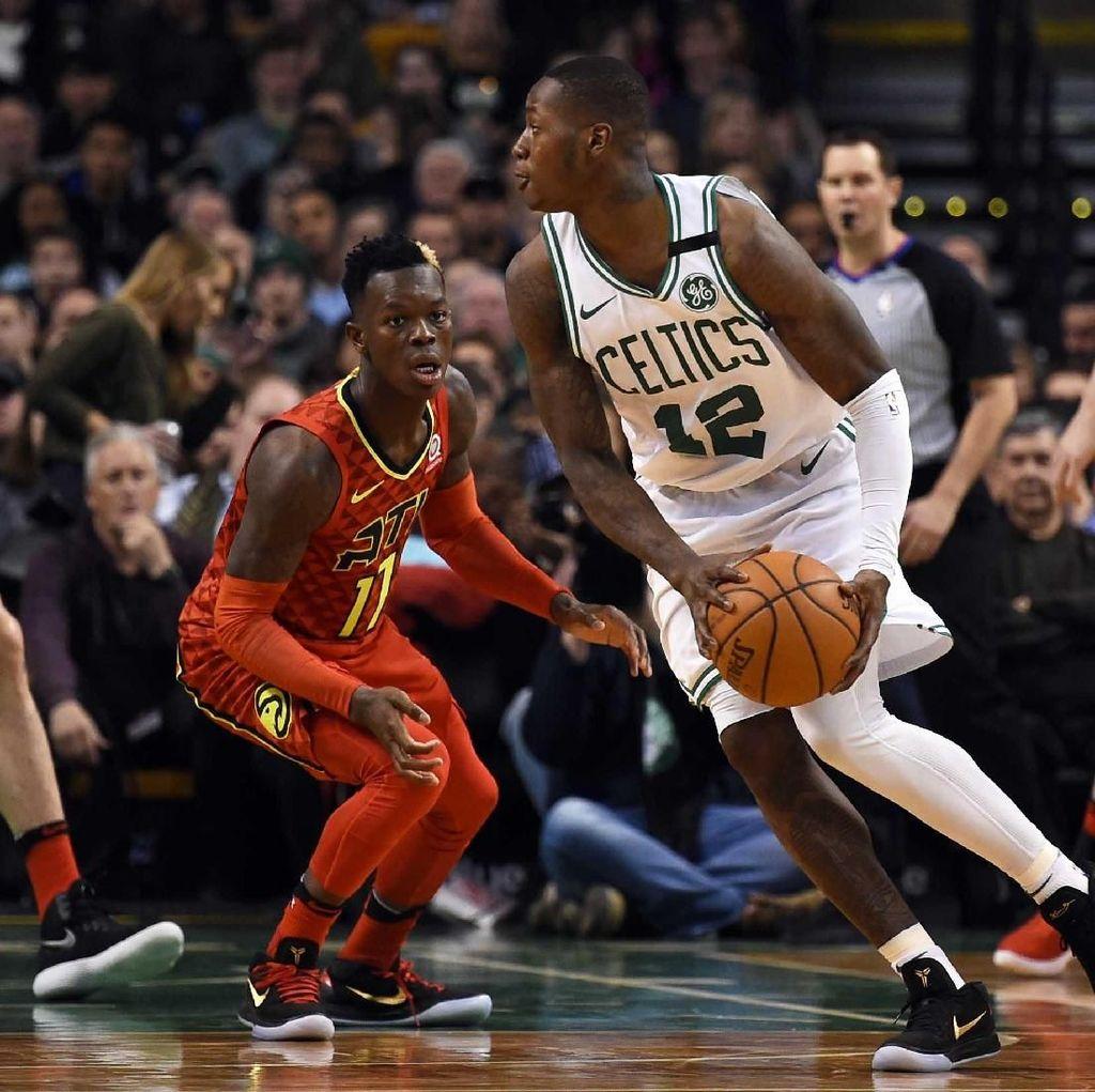 Pelapis Irving Kembali Bersinar, Celtics Hajar Hawks