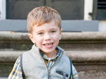 Walau lahir tanpa separuh bagian jantungnya, bocah berumur 5 tahun ini tetap tersenyum. (Foto: Facebook Kristie Thompson via Today)
