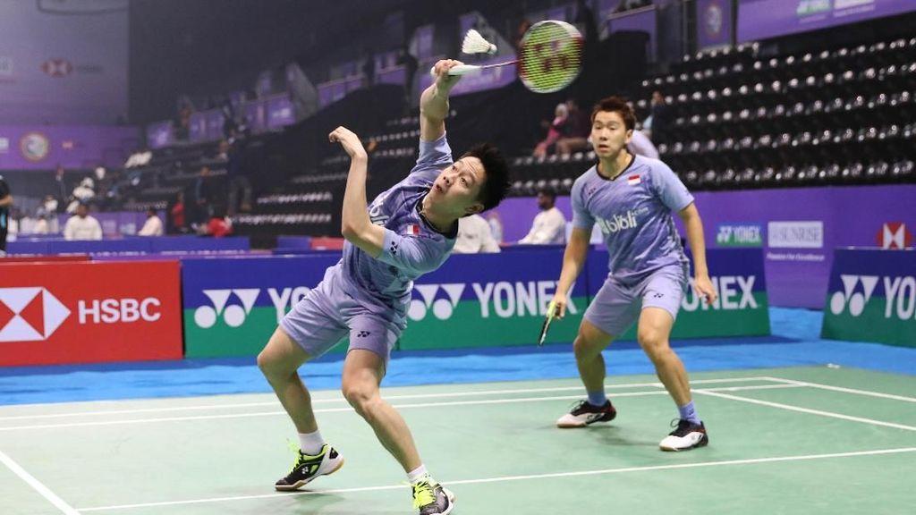 Kalahkan Ahsan/Hendra, Kevin/Marcus Lolos ke Final