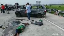 Ini Nama-nama Suporter Bonek yang Kecelakaan di Tol Jombang