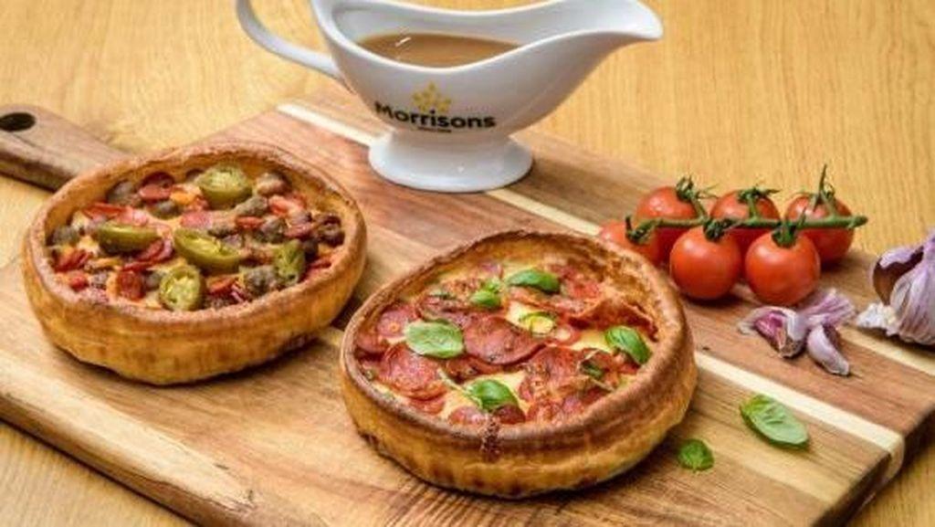 Mau Coba Pizza Hybrid dengan Kombinasi Yorkshire Pudding