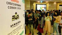 Keseruan Creativepreneur Corner 2018 di Tiga Kota