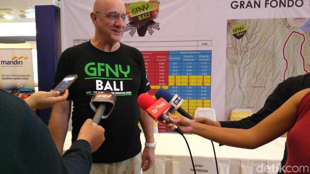 GFNY Bali 2018 Janjikan Keindahan Panorama Pulau Dewata