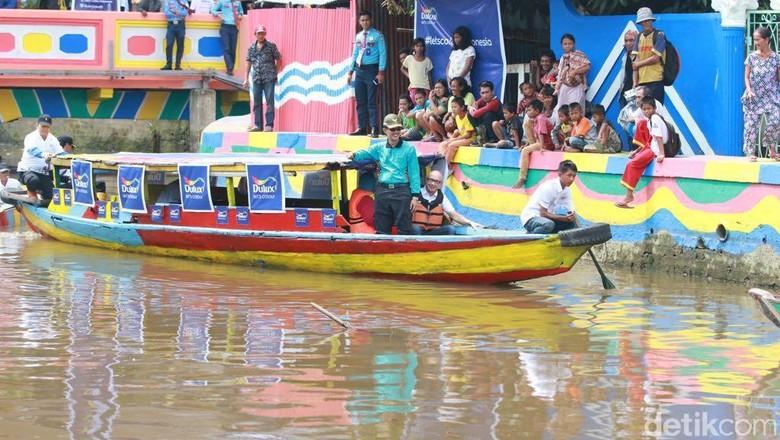 Kawasan Sekanak Bersolek di Palembang (Raja Adil/detikTravel)