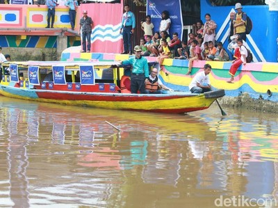 Sungai Sekanak di Palembang: Dulu Kumuh, Sekarang Molek