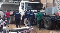 Tim KNKT dan Puslabfor Cek Lokasi Crane Jatuh di Jatinegara