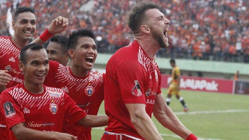 Simic Cetak Dua Gol, Persija Sementara Ungguli Bali United