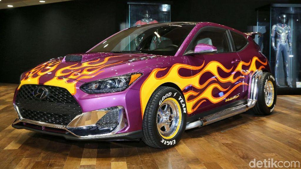 Mobil Korea Jadi Bintang di Film Ant-Man