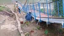 Cerita Korban yang Terempas Saat Jembatan Gantung Cianjur Putus
