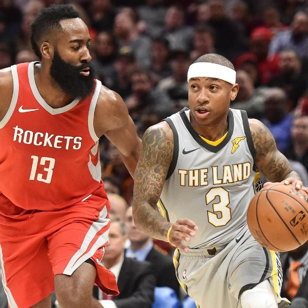 Cavs Ditumbangkan Rockets